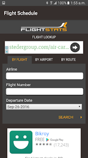 Flight Tracker-Schedule - screenshot