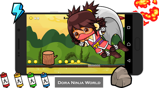 Dora ninja - screenshot