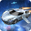Game Flying Space Car Simulator 3D APK for Kindle