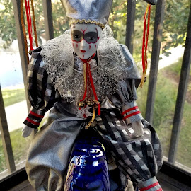 The Court Jester by Michael Villecco - Artistic Objects Toys ( new orleans, doll, toy, jester, mardi gras )