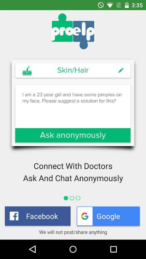 ProElp - Consult Doctor Online Screenshot 0