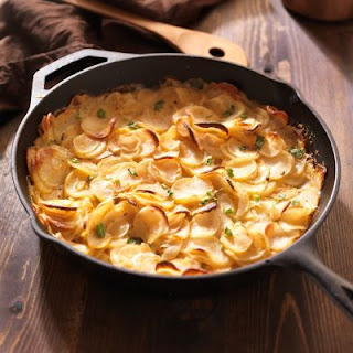 Creamy Garlic Scalloped Potatoes Recipes