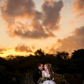 Sunset by Lood Goosen (LWG Photo) - Wedding Bride & Groom ( wedding photography, wedding photographers, wedding day, weddings, wedding, bride and groom, wedding photographer, bride, groom, bride groom )