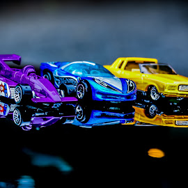 Hot Wheels 5 by Gary Wahle - Artistic Objects Toys ( die-cast, mattel, toy cars, hot wheels,  )