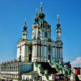 The Ukrainian Orthodox Church by Svetlana Essig - Buildings & Architecture Places of Worship ( church, ukraine, orthodox, architecture, worship,  )