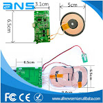 Wireless Mobile Phone Charger Communication PCBA In Multilayer PCB