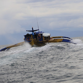 Banka Boat, Philipines by Pradeep Dwivedi - Transportation Boats (  )
