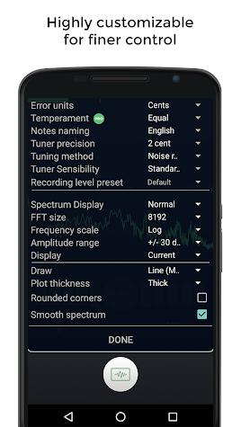 Guitar Tuner Free Screenshot