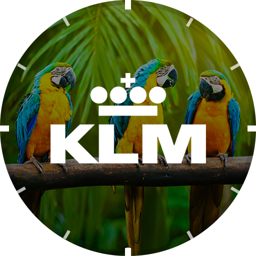 KLM Travel Watch Face