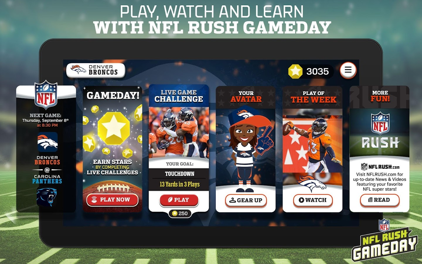 NFL Rush Gameday Screenshot 8