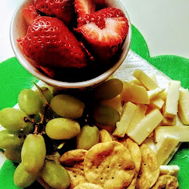 Quikies by Carlo McCoy - Food & Drink Fruits & Vegetables ( grapes, fruits, creative snacks, snacks, cheese, appetizer, strawberry )