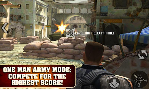 FRONTLINE COMMANDO screenshot 1
