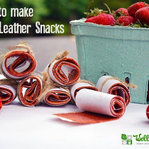 Strawberry Fruit Leather Recipe (with Beets)