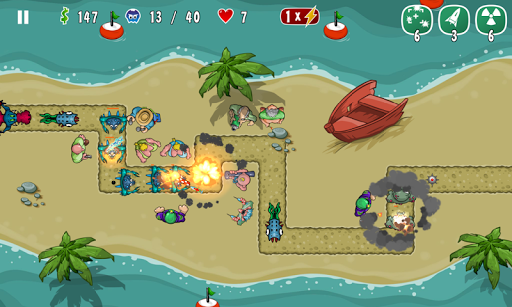 Swamp Defense 2 Ad - screenshot