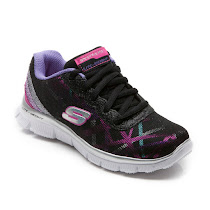 Skechers Geometric Trainer LACE-UP