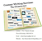Top Class Content Writing Services in Bhopal Region