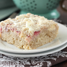 Strawberries and Cream Cheese Coffee Cake
