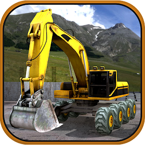 Excavator Offroad Construction