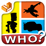 Who am I? - shadow character Icon