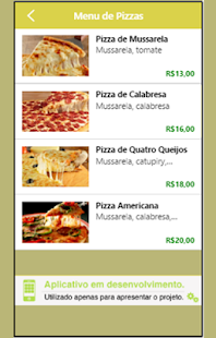 Essa é a Pizza - screenshot
