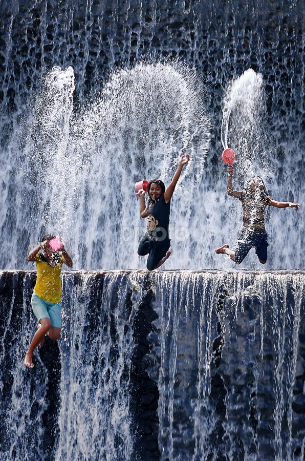 Jump and Splash! by Hendri Suhandi - People Street & Candids ( bali, tukad unda )