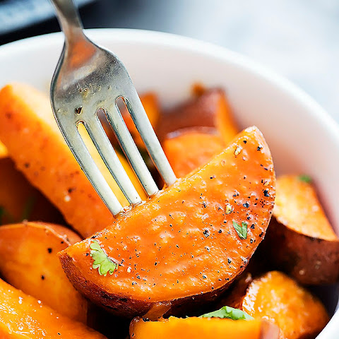 Candied Maple Sweet Potatoes