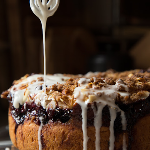Cherry+coffee+cake+with+yeast Recipes | Yummly