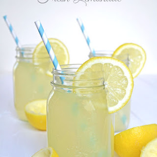 Fresh {Real} Lemonade