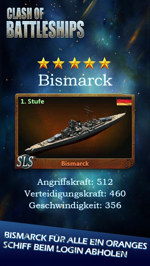 Clash of Battleships - Deutsch Screenshot 2