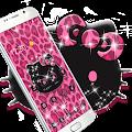 Free Pink Kitty Shine Leopard Cute Kitten Theme APK for Windows 8