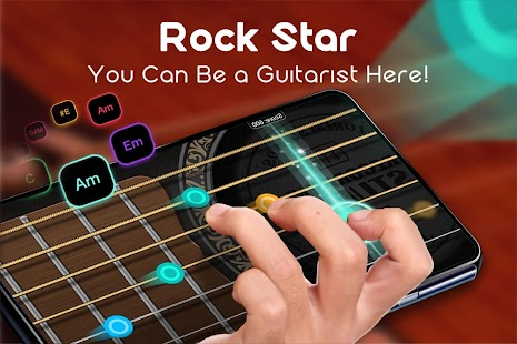 Real Guitar - Free Chords, Tabs & Music Tiles Game for pc
