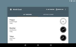 Screenshot of World Clock Widget 2015