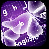 Purple Crystal Butterfly APK for Bluestacks