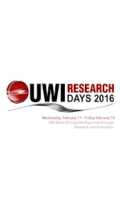 UWI Research Days - screenshot