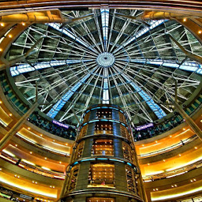 Dome of Petronas Tower by Sigit Setiawan - Buildings & Architecture Other Interior ( malaysia, petronas tower )