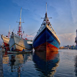 by Arif Djohan - Transportation Boats