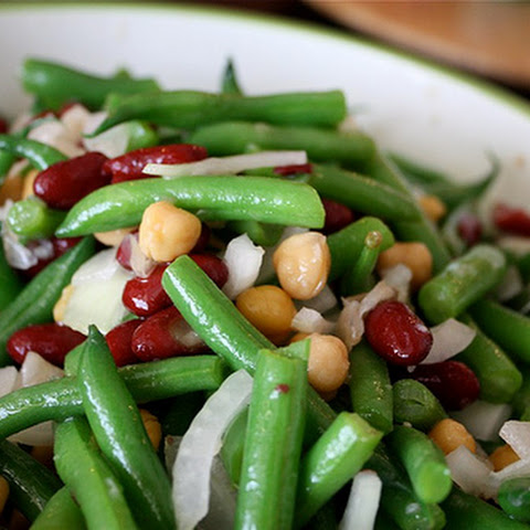 Three-Bean and Vidalia Onion Salad
