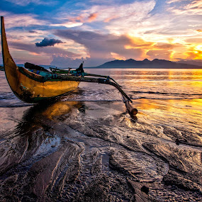 SUNRISE OF JAVA #2 by Thomas Andy - Landscapes Sunsets & Sunrises