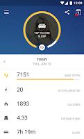 Screenshot of Runtastic Me: Daily Tracker
