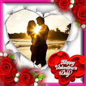 Valentine's day photo frame APK Descargar