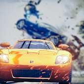 APK Game Drift Racing Legends for BB, BlackBerry