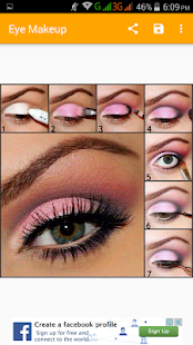 Eye makeup(offline)