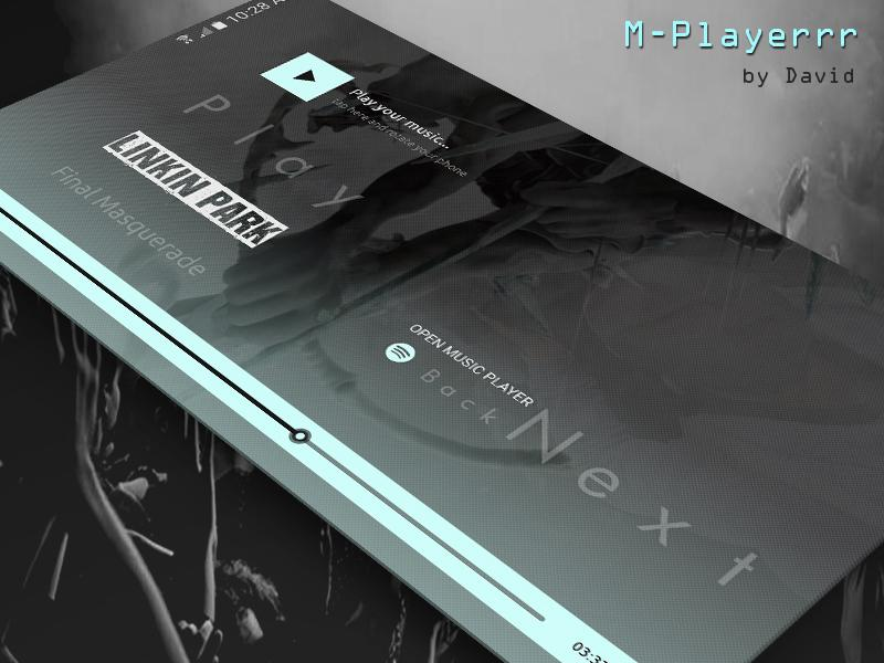 M-Playerrr for KLWP Screenshot 1