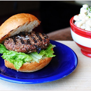 Beef Burgers with Quinoa and Mint
