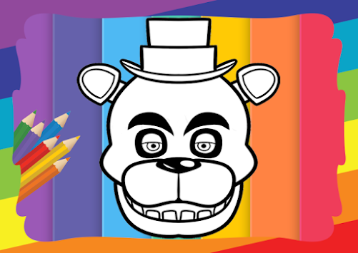 Coloring Book Five Nights Kids APK 15