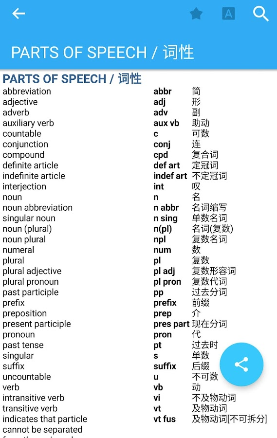 Collins Chinese Dictionary Screenshot 5
