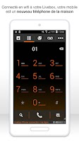 Screenshot of Livebox Phone