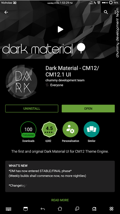 dark material // akZent ★ Screenshot 10