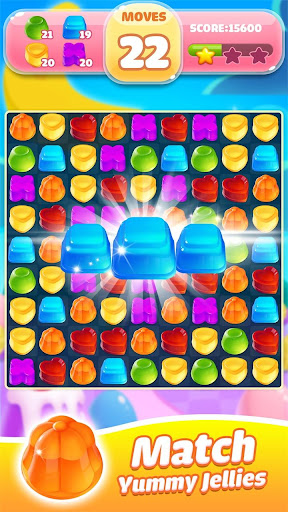 Jelly Jam Blast - A Match 3 Game For PC