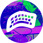 VAPORWAVE Keyboard ? Icon